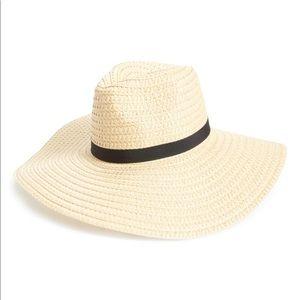 BP. Wide Brim Straw Hat